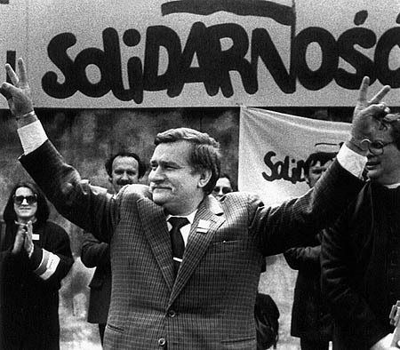 Lech Walsea Solidarity